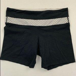 Lululemon Black Polka Dot Shorts See Measurements